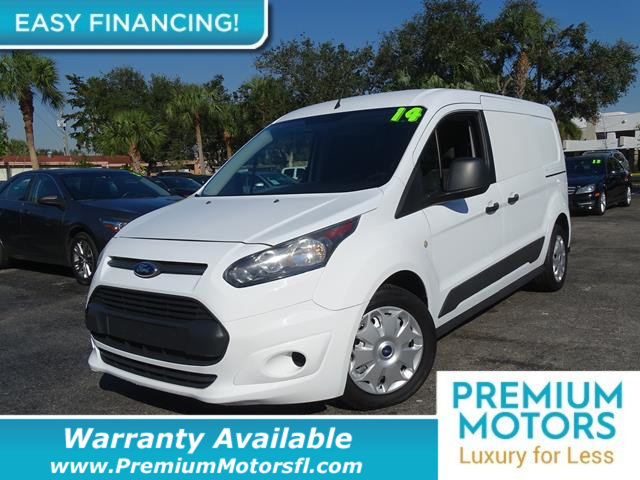 2014 FORD TRANSIT CONNECT LWB XLT LOADED CERTIFIED WARRANTY Dont Pay Retail Get low monthly p
