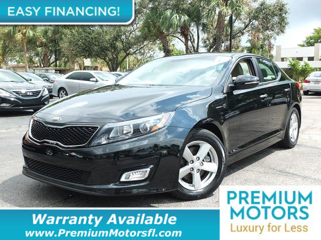2015 KIA OPTIMA 4DR SEDAN LX LOADED CERTIFIED WARRANTY Dont Pay Retail Get low monthly paymen
