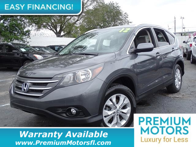 2012 HONDA CR-V EX-L LOADED CERTIFIED WE SAVE YOU THOUSANDS Fully serviced just sign and