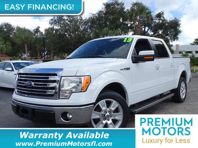 2013 FORD F-150 2WD SUPERCREW 157 LARIAT LOADED CERTIFIED WARRANTY Dont Pay Retail Get low m