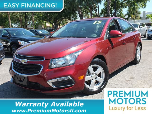 2015 CHEVROLET CRUZE 4DR SEDAN AUTOMATIC 1LT LOADED CERTIFIED WE SAVE YOU THOUSANDS Fully