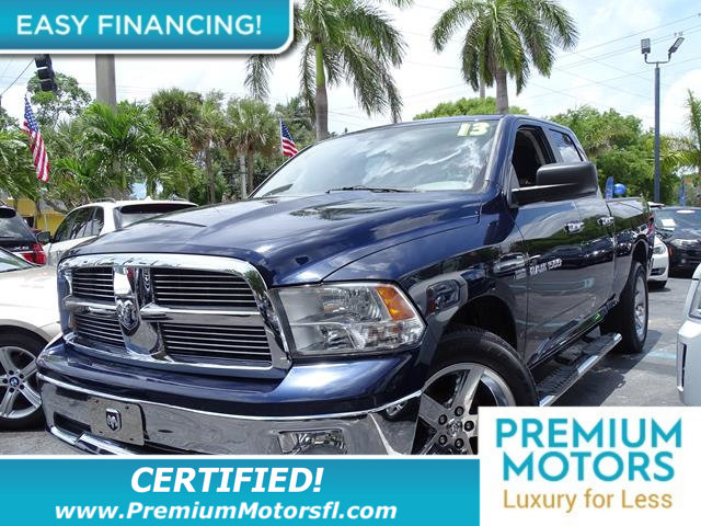 2012 RAM 1500 4WD QUAD CAB 1405 BIG HORN LOADED CERTIFIED WE SAVE YOU THOUSANDS Fully se