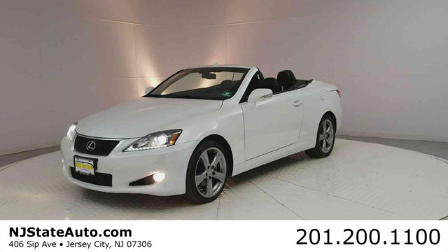 2012 LEXUS IS 250C 2DR CONVERTIBLE AUTOMATIC CARFAX One-Owner Clean CARFAX Starfire Pearl 2012 L