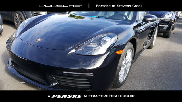 2018 PORSCHE 718 CAYMAN COUPE KEY FEATURES AND OPTIONS Comes equipped with 169 Gallon Extended R