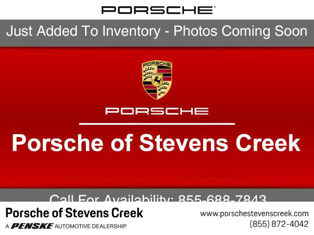2018 PORSCHE MACAN GTS AWD LOADED WITH VALUE Comes equipped with Black Black Leather Seat Trim