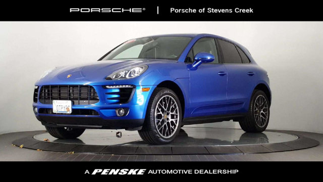 2017 PORSCHE MACAN AWD 4DR S Single owner car Your quest for a gently used SUV is over This terr