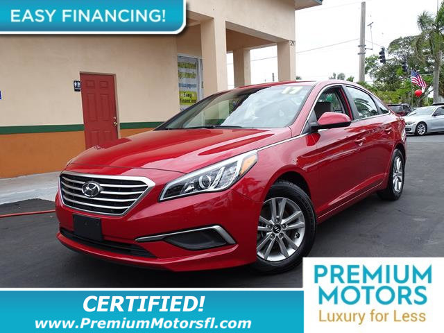 2017 HYUNDAI SONATA 24L LOADED CERTIFIED MINT CONDITION and 1000s Below Retail Get low monthl