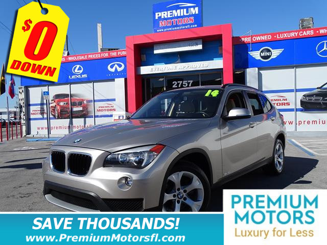 2014 BMW X1 SDRIVE28I BMW FOR LESS FACTORY WARRANTY At Premium Motors we have relationship