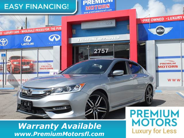 2017 HONDA ACCORD SEDAN SPORT CVT LOADED CERTIFIED MINT CONDITION and 1000s Below Retail Get l