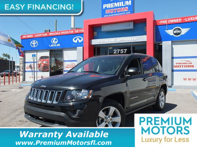 2016 JEEP COMPASS  LOADED WITH VALUE Comes equipped with Bluetooth This Jeep Compass also inclu