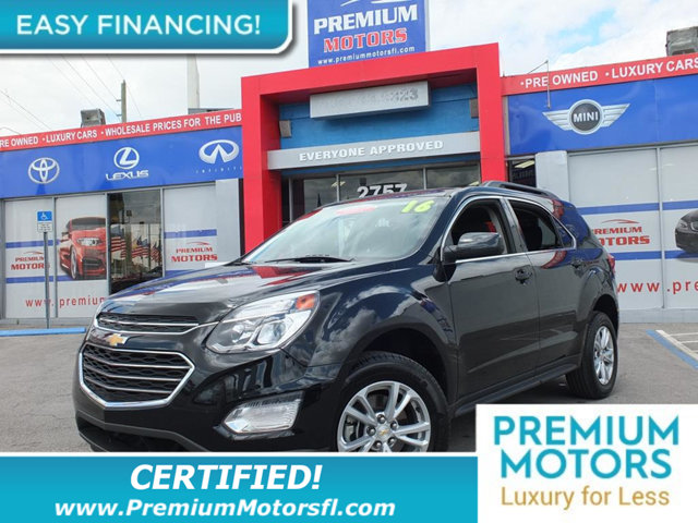 2016 CHEVROLET EQUINOX FWD 4DR LT LOADED CERTIFIED WE SAVE YOU THOUSANDS Fully serviced just s
