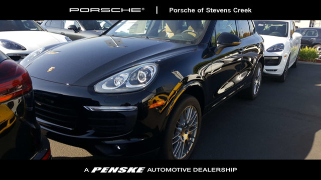 2018 PORSCHE CAYENNE PLATINUM EDITION AWD KEY FEATURES AND OPTIONS Comes equipped with 14-Way Pow