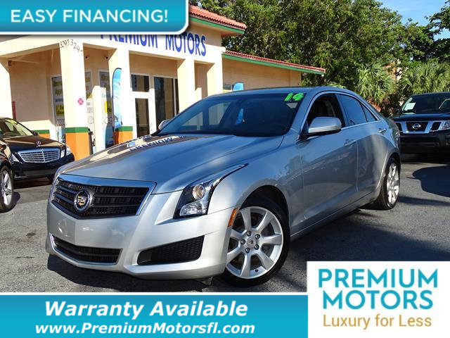 2014 CADILLAC ATS  LOADED CERTIFIED WARRANTY Dont Pay Retail Get low monthly payments on this