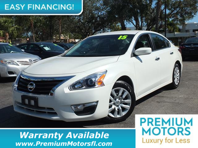 2015 NISSAN ALTIMA 4DR SEDAN I4 25 S LOADED CERTIFIED WE SAVE YOU THOUSANDS Fully serviced ju