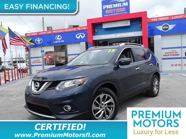 2015 NISSAN ROGUE FWD 4DR SL LOADED CERTIFIED FACTORY WARRANTY Fully serviced just sign and dr