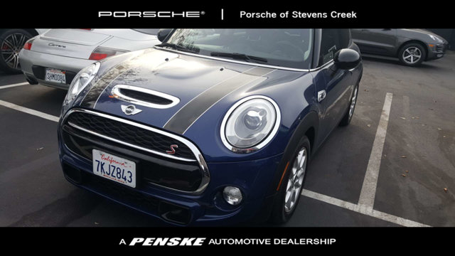 2015 MINI COOPER HARDTOP 2 DOOR S CARFAX One-Owner Clean CARFAX Blue 2015 MINI Cooper S FWD 6-Sp
