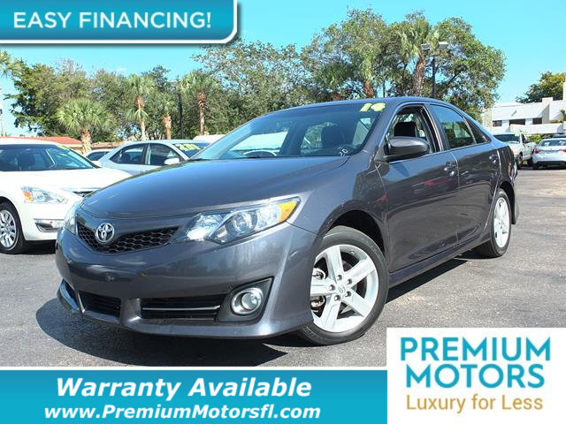 2014 TOYOTA CAMRY 20145 4DR SEDAN I4 AUTOMATIC SE LOADED CERTIFIED FACTORY WARRANTY Fully serv