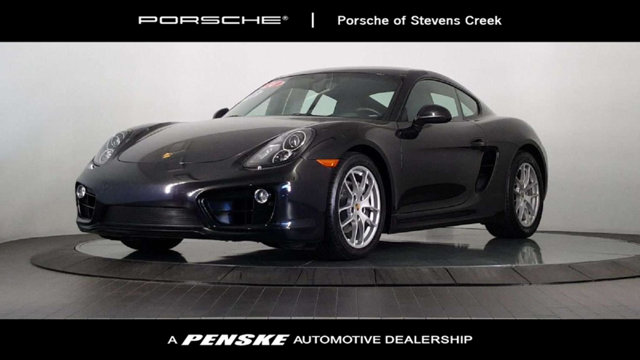 2014 PORSCHE CAYMAN 2DR COUPE Porsche Certified Come to the experts Gasoline This fantastic 201