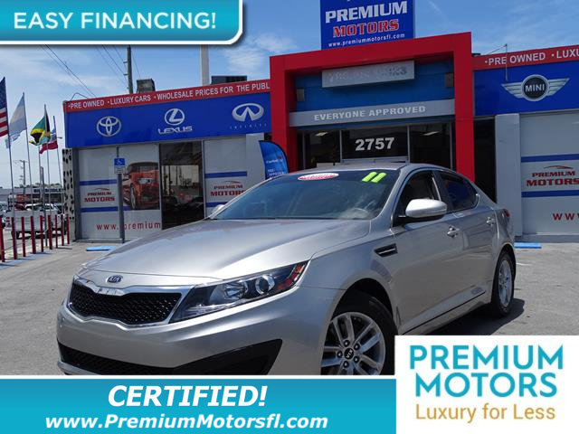 2011 KIA OPTIMA LX LOADED CERTIFIED WE SAVE YOU THOUSANDS Fully serviced just sign and dr