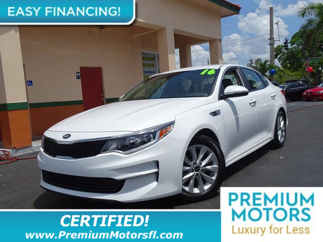 2016 KIA OPTIMA 4DR SEDAN LX LOADED CERTIFIEDFACTORY WARRANTY Fully serviced just sign an