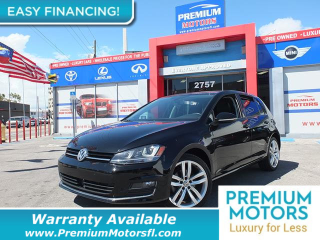 2015 VOLKSWAGEN GOLF  LOADED CERTIFIED WE SAVE YOU THOUSANDS Fully serviced just sign and driv