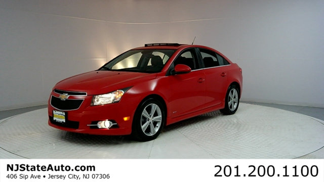 2014 CHEVROLET CRUZE 4DR SEDAN AUTOMATIC 2LT CARFAX CERTIFIED WITH SERVICE RECORDS RS Packa