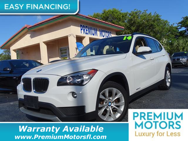 2014 BMW X1 XDRIVE28I LOADED CERTIFIED WARRANTY Dont Pay Retail Get low monthly payments on t