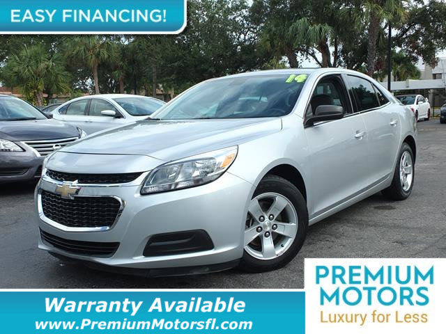 2014 CHEVROLET MALIBU 4DR SEDAN LS W1LS LOADED CERTIFIED WARRANTY Dont Pay Retail Get low mo