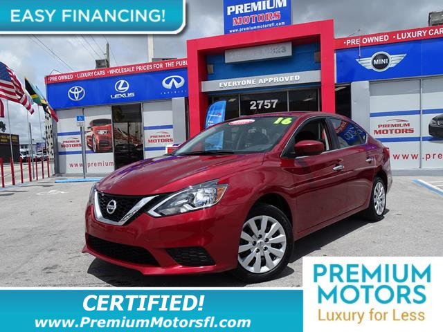 2016 NISSAN SENTRA 4DR SEDAN I4 CVT SV LOADED CERTIFIEDFACTORY WARRANTY Fully serviced ju