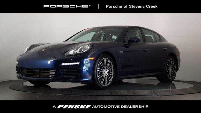 2015 PORSCHE PANAMERA 4DR HB Porsche Certified Gently used So few miles means its like new Be