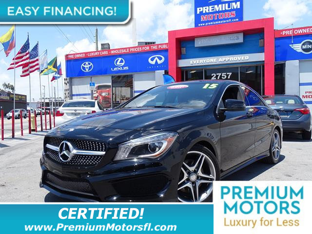 2015 MERCEDES CLA 4DR SEDAN CLA 250 FWD LOADED CERTIFIED FACTORY WARRANTY Fully serviced just