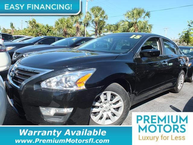 2015 NISSAN ALTIMA 4DR SEDAN I4 25 S LOADED CERTIFIED FACTORY WARRANTY Fully serviced just si