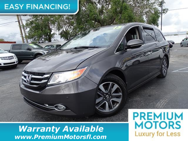 2015 HONDA ODYSSEY 5DR TOURING LOADED CERTIFIED FACTORY WARRANTY Fully serviced just sign and