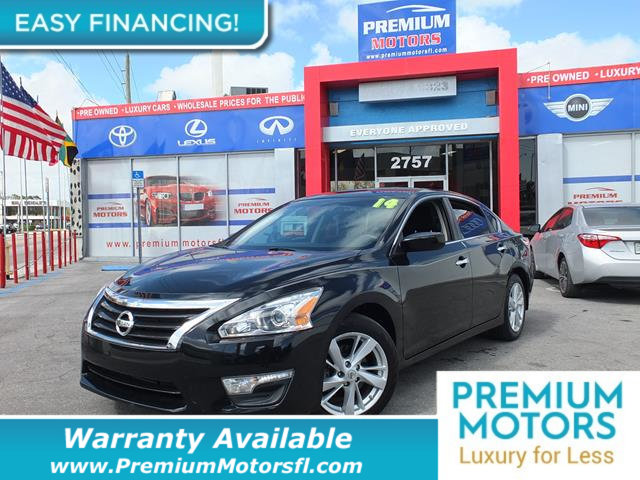 2014 NISSAN ALTIMA  LOADED CERTIFIED FACTORY WARRANTY Fully serviced just sign and drive Don