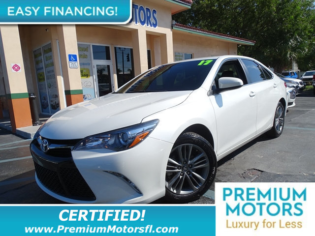 2017 TOYOTA CAMRY SE AUTOMATIC HUGE SALE FACTORY WARRANTY At Premium Motors we have relations