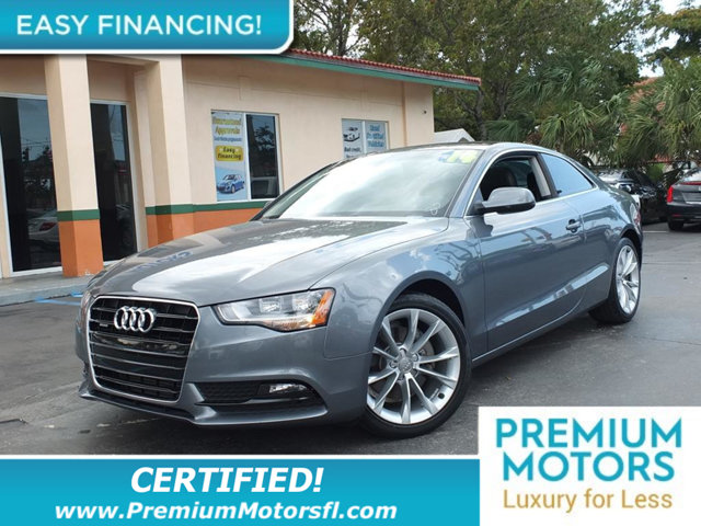 2014 AUDI A5 2DR COUPE AUTOMATIC QUATTRO 20T LOADED CERTIFIED FACTORY WARRANTY Fully serviced