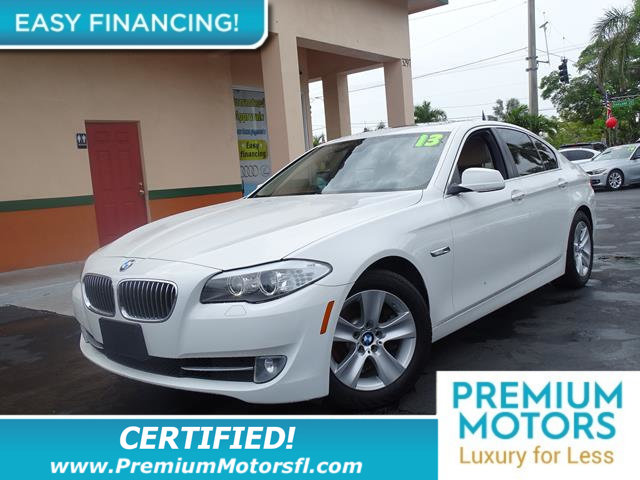2013 BMW 5 SERIES 528I LOADED CERTIFIED WE SAVE YOU THOUSANDS Fully serviced just sign an