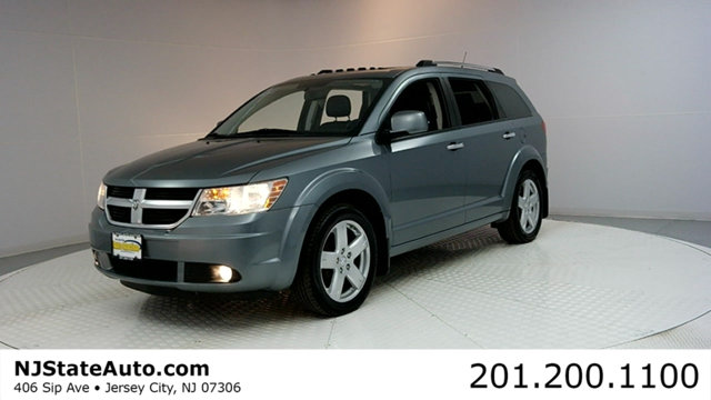 2010 DODGE JOURNEY AWD 4DR RT CARFAX CERTIFIED WITH SERVICE RECORDS Journey RT AWD Blac