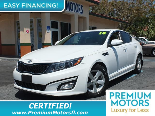 2014 KIA OPTIMA 4DR SEDAN EX LOADED CERTIFIED WE SAVE YOU THOUSANDS Fully serviced just sign a