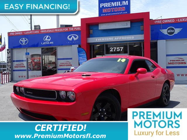 2014 DODGE CHALLENGER 2DR COUPE SXT LOADED CERTIFIED WE SAVE YOU THOUSANDS Fully serviced just