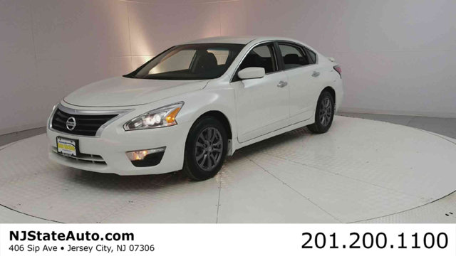 2015 NISSAN ALTIMA 4DR SEDAN I4 25 S CARFAX One-Owner Pearl White 2015 Nissan Altima 25 S FWD CV
