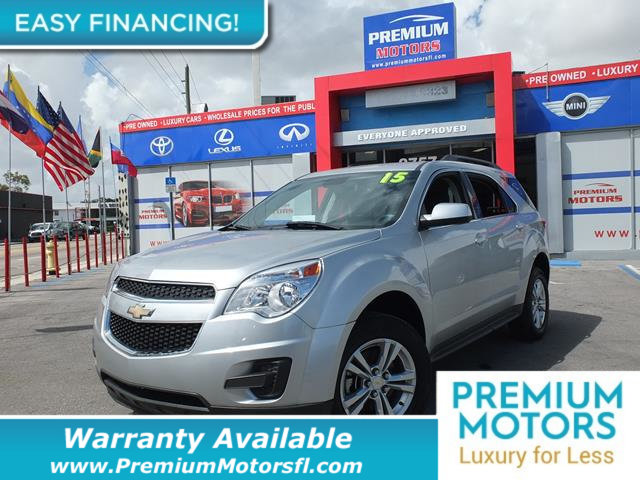 2015 CHEVROLET EQUINOX FWD 4DR LT W1LT LOADED CERTIFIED FACTORY WARRANTY Fully serviced just
