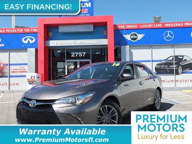 2016 TOYOTA CAMRY  LOADED CERTIFIED WE SAVE YOU THOUSANDS Fully serviced just sign and drive