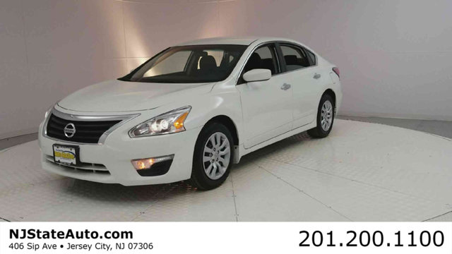 2015 NISSAN ALTIMA 4DR SEDAN I4 25 S CARFAX One-Owner Clean CARFAX Pearl White 2015 Nissan Altim
