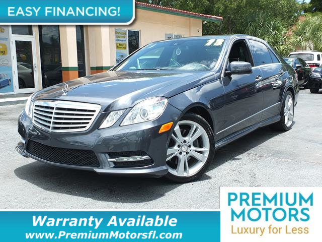 2013 MERCEDES E-CLASS  LOADED CERTIFIED WARRANTY Dont Pay Retail Get low m