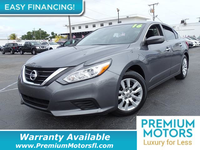 2016 NISSAN ALTIMA  LOADED CERTIFIED FACTORY WARRANTY Fully serviced just sign and drive Don