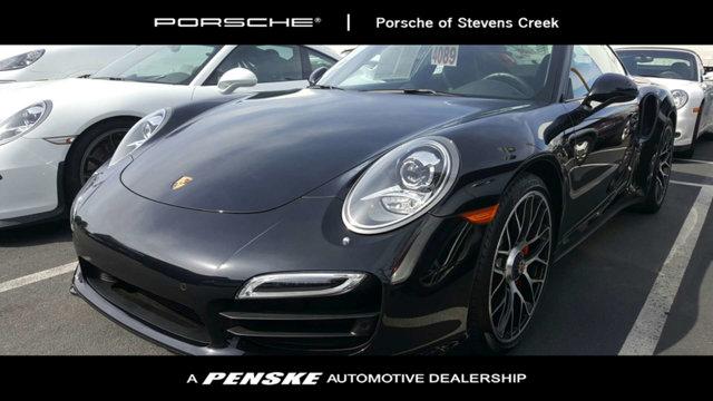 2015 PORSCHE 911 2DR COUPE TURBO CARFAX One-Owner Clean CARFAX Certified Jet 2015 Porsche 911 T