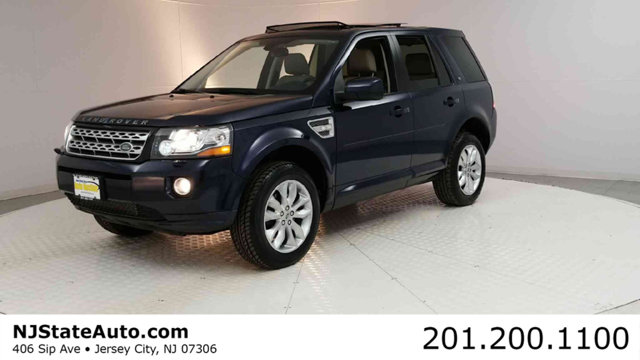 2014 LAND ROVER LR2 AWD 4DR HSE CARFAX One-Owner Clean CARFAX Blue Metallic 2014 Land Rover LR2 4