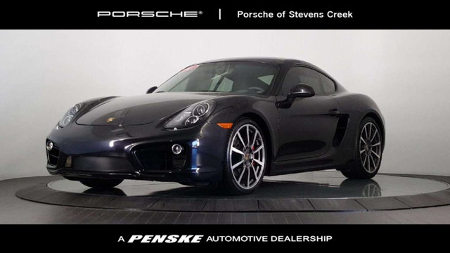2014 PORSCHE CAYMAN 2DR COUPE S Braking are receptive and steady Dutiful Braking Be the talk of