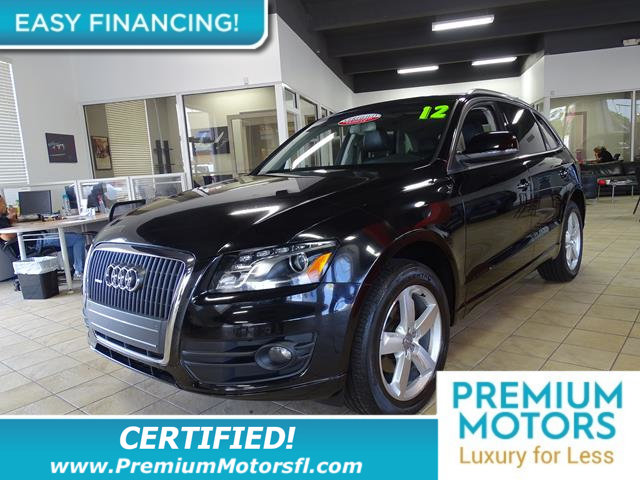 2012 AUDI Q5 QUATTRO 4DR 20T PREMIUM PLUS LOADED CERTIFIED WE SAVE YOU THOUSANDS Fully service